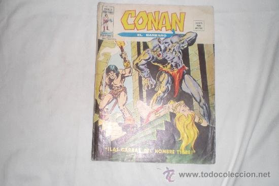 CONAN EL BARBARO MUNDI-COMICS Nº 18 (Tebeos y Comics - Vértice - V.2)