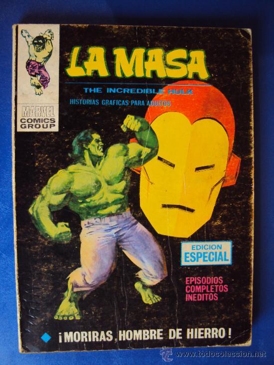 (COM-109)COMIC VERTICE LA MASA Nº14 - 25 PTS. (Tebeos y Comics - Vértice - La Masa)