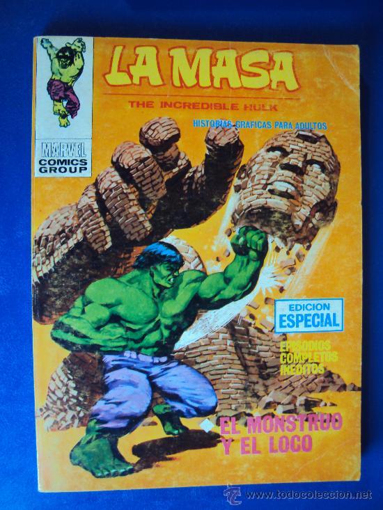 (COM-106)COMIC VERTICE LA MASA Nº21 - 25 PTS. (Tebeos y Comics - Vértice - La Masa)