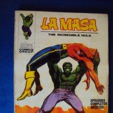 Cómics: (COM-105)COMIC VERTICE LA MASA Nº22 - 25 PTS.. Lote 33891811
