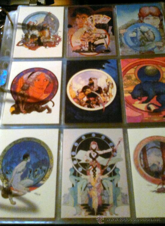 MICHAEL KALUTA 90 TRADING CARDS (1994) (Tebeos y Comics - Vértice - Conan)