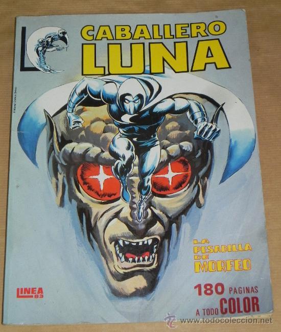 VÉRTICE SURCO COLOR LÍNEA 83, Nº 1 CABALLERO LUNA. . 180 PÁGINAS (Tebeos y Comics - Vértice - Surco / Mundi-Comic)