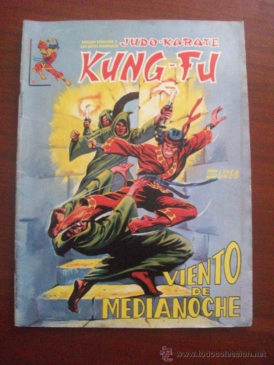 JUDO KARATE Y KUNG FU Nº 7 EDICIONES SURCO (Tebeos y Comics - Vértice - Surco / Mundi-Comic)