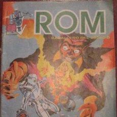 Cómics: ROM CABALLERO DEL ESPACIO HÍBRIDO 2ª PARTE Nº 6 EDICIONES SURCO AÑO 1983. Lote 34022454