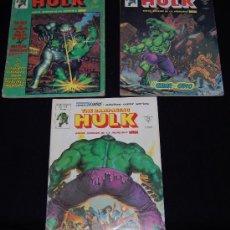 Comics : LOTE 3 COMICS LA MASA (HULK) ED- VÉRTICE. NÚMEROS: 12, 13, Y 14. Lote 34165760