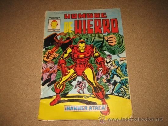 HOMBRE DE HIERRO HAMMER ATACA MUNDICOMICS ADULTOS Nº 7 EDIC.VERTICE 1981 (Tebeos y Comics - Vértice - Hombre de Hierro)