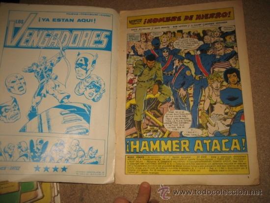 Cómics: HOMBRE DE HIERRO HAMMER ATACA MUNDICOMICS ADULTOS Nº 7 EDIC.VERTICE 1981 - Foto 2 - 34199069