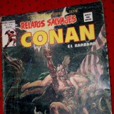 Cómics: CONAN EL BARBARO VOL.1 Nº81 (RELATOS SALVAJES): LA GEMA EN LA TORRE.. Lote 34322782