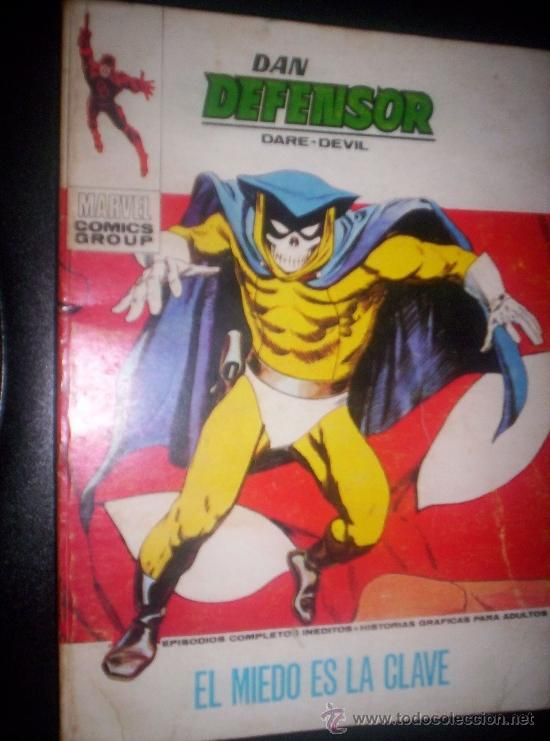 VERTICE .DAN DEFENSOR NUMERO 40- (Tebeos y Comics - Vértice - Dan Defensor)