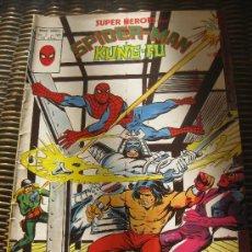 Cómics: SUPER HEROES. SPIDER-MAN Y KUNG-FU..V.2. Nº109.EDICIONES VERTICE 1978.. Lote 34503772