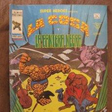 Cómics: SUPER HEROES. LA COSA Y LA PANTERA NEGRA.. VOL 2. Nº 102.. Lote 34513798