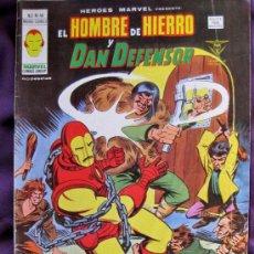 Cómics: EL HOMBRE DE HIERRO Y DAN DEFENSOR. V.2. Nº 45 .ENTONCES LLEGO EL MONSTRUO. EDICIONES VÉRTICE.1975.. Lote 34577078