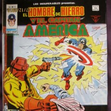 Cómics: EL HOMBRE DE HIERRO Y EL CAPITÁN AMÉRICA. V.1. Nº 17. EDICIONES VÉRTICE.1978.. Lote 41404422