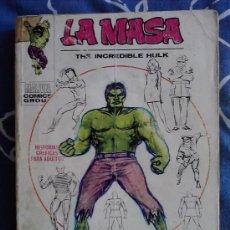 Cómics: LA MASA EDICION GIGANTE VERTICE 1 : AVENTURAS DE LA MASA (HULK) CON DEFECTO, VER DESCRIPCION.. Lote 34613123