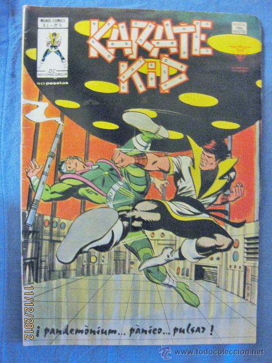 KARATE KID. V.1. Nº 4. EDICIONES VÉRTICE. 1978. ( 40 PTS ) (Tebeos y Comics - Vértice - V.1)