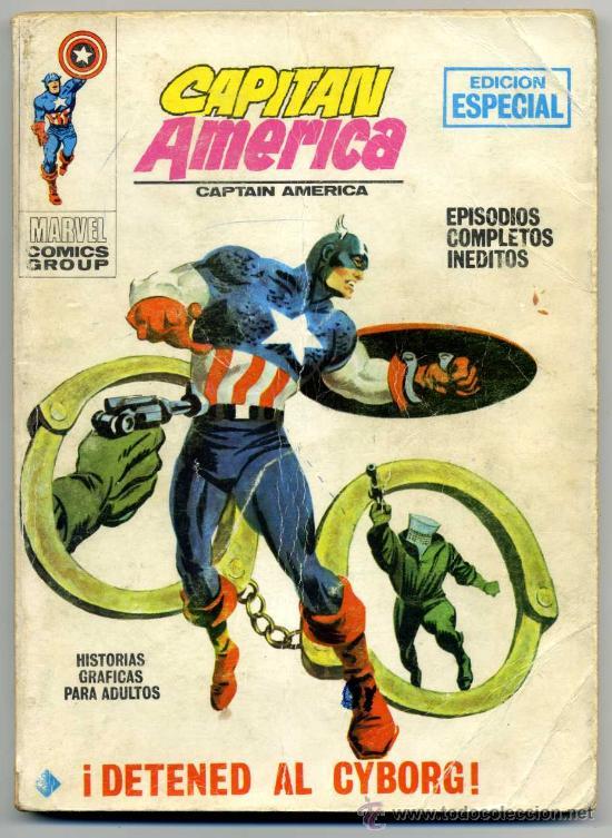 CAPITAN AMERICA NUM 10 (Tebeos y Comics - Vértice - Capitán América)