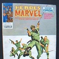 Cómics: HEROES MARVEL. CON EL CAPITÁN SAVAGE. Nº 8: EL ENEMIGO INVISIBLE. MARVEL COMICS GROUPS. ED VÉRTICE . Lote 34668103
