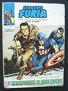 SARGENTO FURIA. SGT. FURY. Nº7 EL ESCUADRÓN MORTAL DEL BARÓN STRUCKER MARVEL COMICS GROUPS.VÉRTICE (Tebeos y Comics - Vértice - Furia)