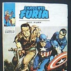 Cómics: SARGENTO FURIA. SGT. FURY. Nº7 EL ESCUADRÓN MORTAL DEL BARÓN STRUCKER MARVEL COMICS GROUPS.VÉRTICE. Lote 34668183