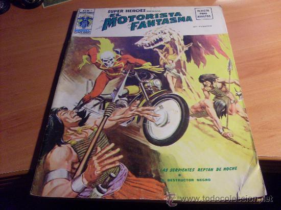 EL MOTORISTA FANTASMA VOL. 2 V.2 Nº 3 (SUPER HEROES ORIGINAL VERTICE 30 PTAS) MUY DIFICIL (COIM21) (Tebeos y Comics - Vértice - Super Héroes)