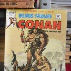 Cómics: RELATOS SALVAJES: CONAN EL BÁRBARO VOL. 1 - 3 NÚMEROS (79-80-81) - VÉRTICE 1974 - LEER. Lote 34757350