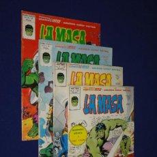 Cómics: LOTE DE 4 NÚMEROS LA MASA VOL. 3 - VERTICE. Lote 34808130