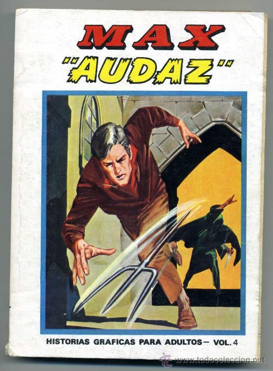 MAX AUDAZ NUM 4 (Tebeos y Comics - Vértice - V.1)