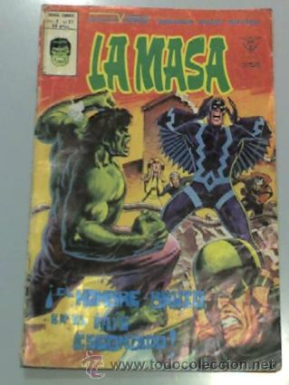 LA MASA DE VÉRTICE VOL.3 #37 MUNDI COMICS (Tebeos y Comics - Vértice - La Masa)