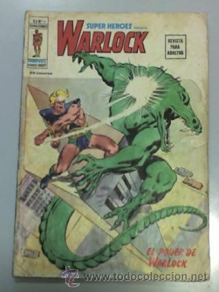 SUPER HÉROES VOL.2 #16: WARLOCK DE VÉRTICE: 10 € ¡DIFÍCIL! (Tebeos y Comics - Vértice - Super Héroes)
