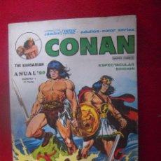 Cómics: CONAN - ANUAL 80 - RUSTICA. Lote 34898489