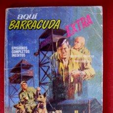 Cómics: AQUÍ BARRACUDA. EXTRA. Nº 5. EL RESCATE DEL DIABLO. EDICIONES VÉRTICE 1968. TACO.. Lote 34992065