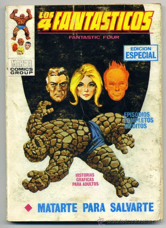 LOS 4 FANTÁSTICOS NUM 21 VOL1 (Tebeos y Comics - Vértice - 4 Fantásticos)