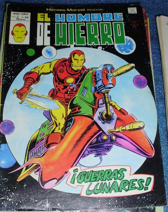 - HOMBRE DE HIERRO VERTICE MUNDI COMICS V.2 N.º 64 (Tebeos y Comics - Vértice - Hombre de Hierro)
