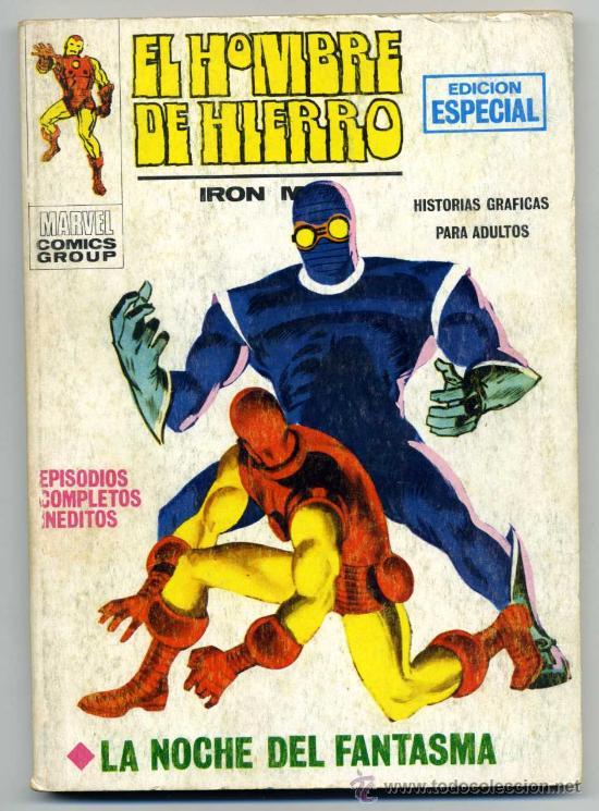 EL HOMBRE DE HIERRO NUM 6 VOL 1 (Tebeos y Comics - Vértice - Hombre de Hierro)