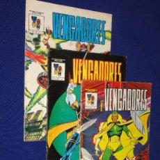 Cómics: LOS VENGADORES 1, 2 Y 3 - MUNDI COMICS VERTICE. Lote 210709204