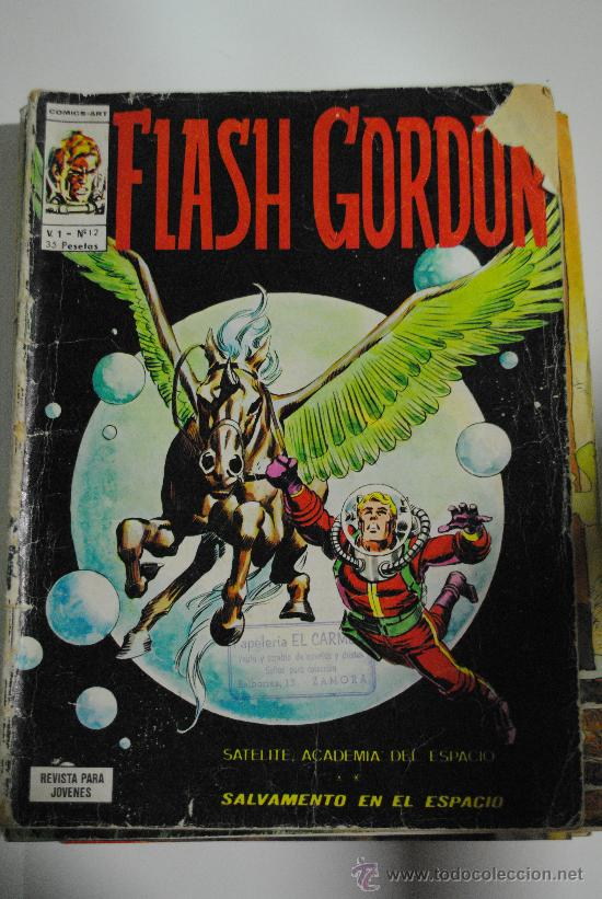 FLASH GORDON V. 1 - Nº 12 (Tebeos y Comics - Vértice - Flash Gordon)