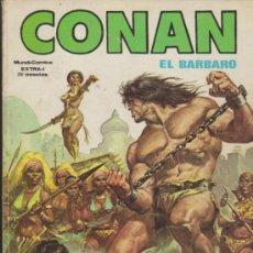 Fumetti: CONAN EL BÁRBARO. MUNDI COMICS EXTRA Nº 1. (162 PÁGINAS). Lote 35588999