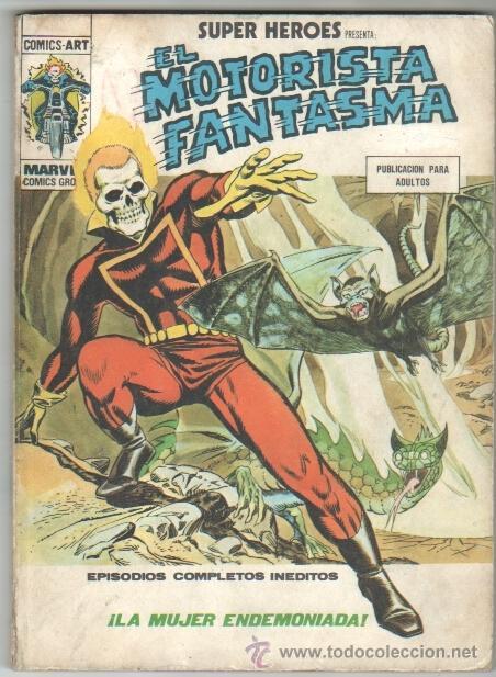 SUPER HEROES TACO VOL 1 Nº 7 MOTORISTA FANTASMA (Tebeos y Comics - Vértice - Super Héroes)
