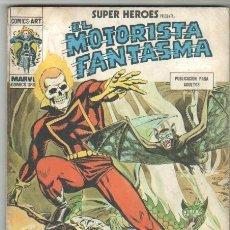 Cómics: SUPER HEROES TACO VOL 1 Nº 7 MOTORISTA FANTASMA. Lote 35606279