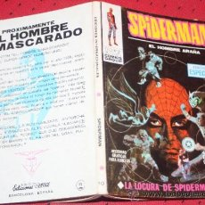 Cómics: SPIDERMAN, VOL1, NUM.10: LA LOCURA DE SPIDERMAN (VERTICE TACO) . Lote 35626636