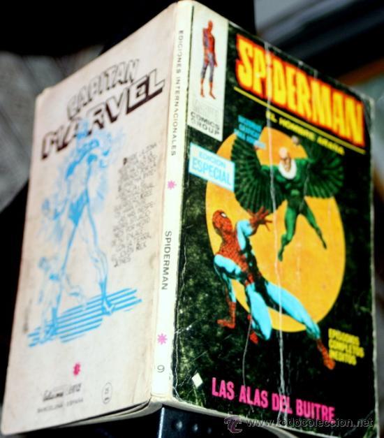 SPIDERMAN, VOL1, NUM.19: LAS ALAS DEL BUITRE (VERTICE TACO) (Tebeos y Comics - Vértice - V.1)