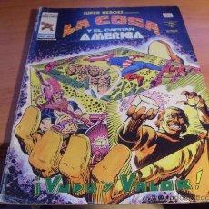 Cómics: LA COSA Y CAPITAN AMERICA V2 Nº 103 SUPER HEROES (ED. VERTICE) (COIM25). Lote 155633977