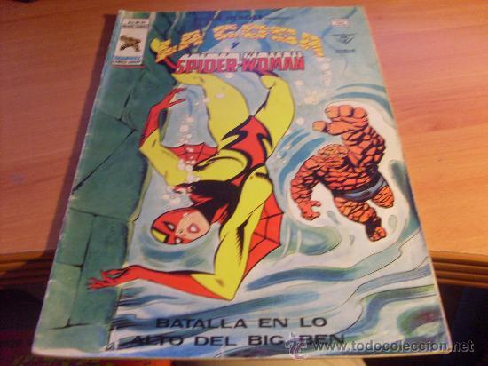LA COSA Y SPIDER-WOMAN V2 Nº 94 SUPER HEROES (ED. VERTICE) (COIM25) (Tebeos y Comics - Vértice - Super Héroes)