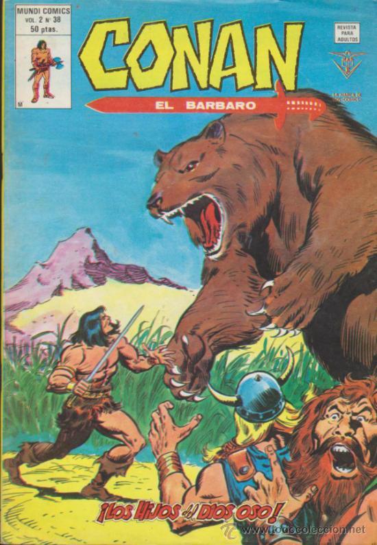 CONAN VOL.2 Nº 38. VÉRTICE. (Tebeos y Comics - Vértice - Conan)