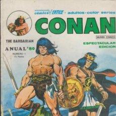 Cómics: CONAN Nº 1. ANUAL 80.. Lote 35883131