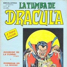 Cómics: TUMBA DE DRÁCULA, LA VOL. 2 Nº 7. Lote 35905121