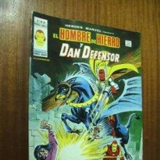 Comics: HÉROES MARVEL PRESENTA EL HOMBRE DE HIERRO Y DAN DEFENSOR / V. VOL. 2 Nº 52 / VÉRTICE. Lote 35908260