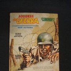 Cómics: ACCIONES DE GUERRA - VOLUMEN I - Nº 1 - PRIMERA MISION - VERTICE - . Lote 35909471