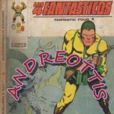 Cómics: LOS 4 FANTASTICOS, EDITORIAL VERTICE, V.1 N. 50, CAOS EN EL EDIFICIO BAXTER. Lote 35915338