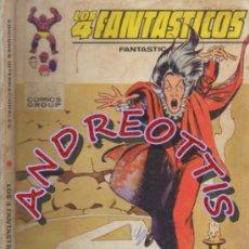 Cómics: LOS 4 FANTASTICOS, EDITORIAL VERTICE, V.1 N. 55, 4 FANTASTICOS - 1 FANTASTICO = 3 FANTASTICOS. Lote 35915635